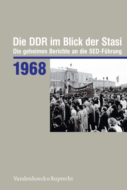 Cover-Bild Die DDR im Blick der Stasi 1968