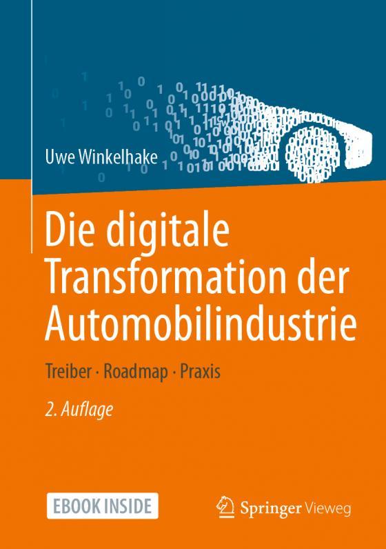 Cover-Bild Die digitale Transformation der Automobilindustrie