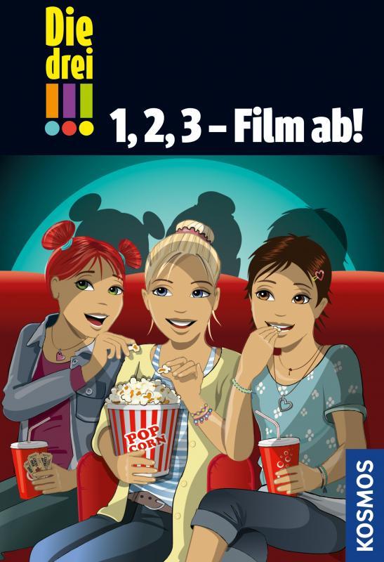 Cover-Bild Die drei !!!, 1, 2, 3 - Film ab! (drei Ausrufezeichen)