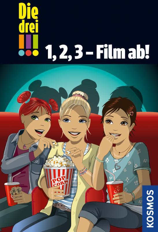 Cover-Bild Die drei !!!, 1, 2, 3 - Film ab!