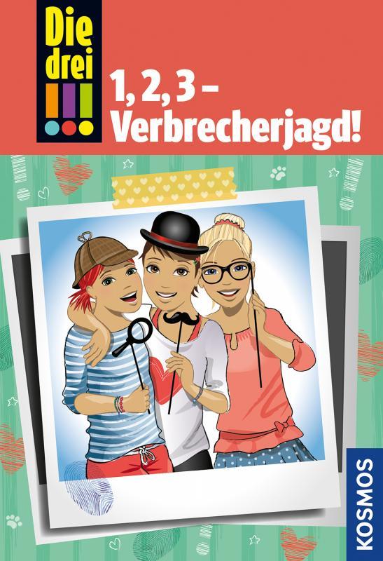 Cover-Bild Die drei !!!, 1, 2, 3 - Verbrecherjagd!