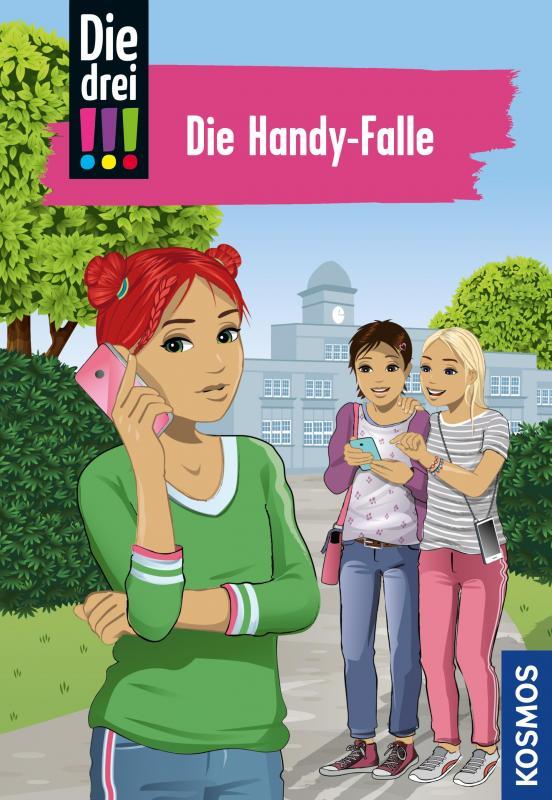 Cover-Bild Die drei !!!, 1, Die Handy-Falle (drei Ausrufezeichen)