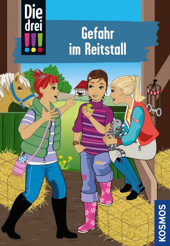 Cover-Bild Die drei !!!, 13, Gefahr im Reitstall (drei Ausrufezeichen)