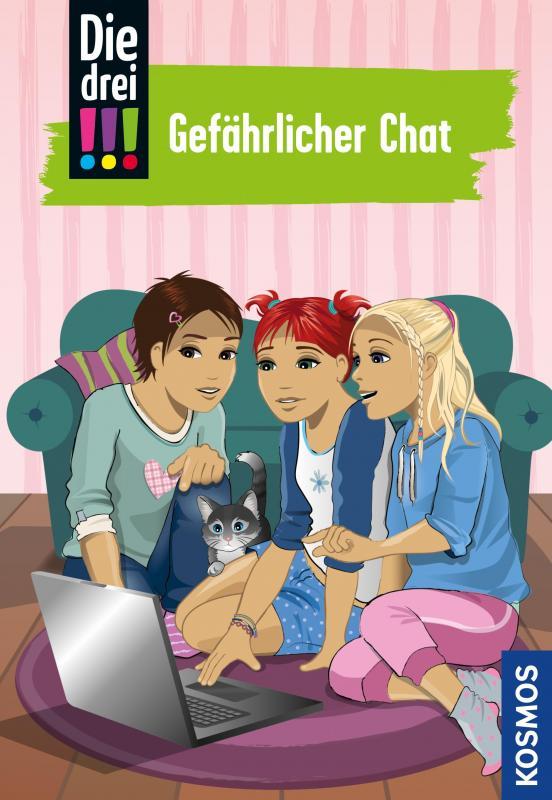 Cover-Bild Die drei !!!, 3, Gefährlicher Chat (drei Ausrufezeichen)