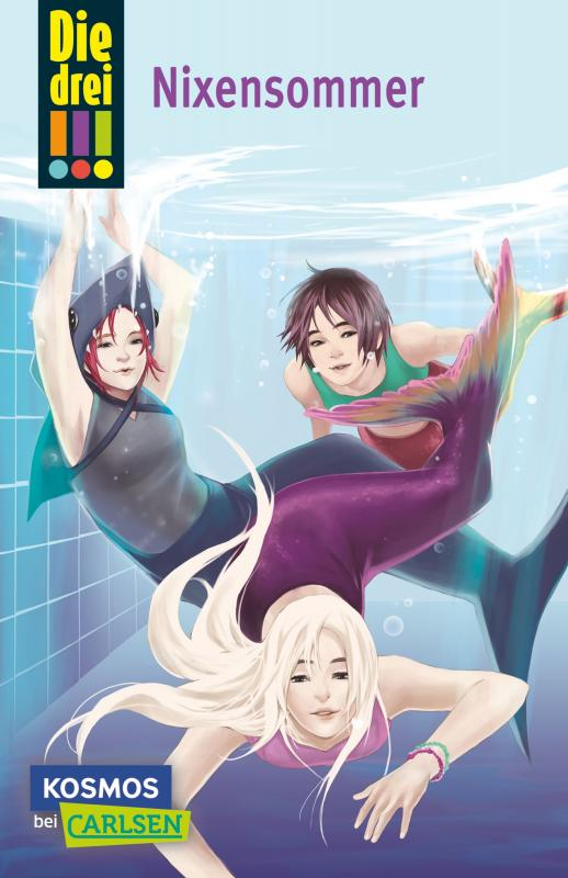 Cover-Bild Die drei !!! 43: Nixensommer