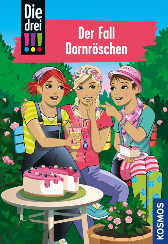 Cover-Bild Die drei !!!, 61, Der Fall Dornröschen (drei Ausrufezeichen)