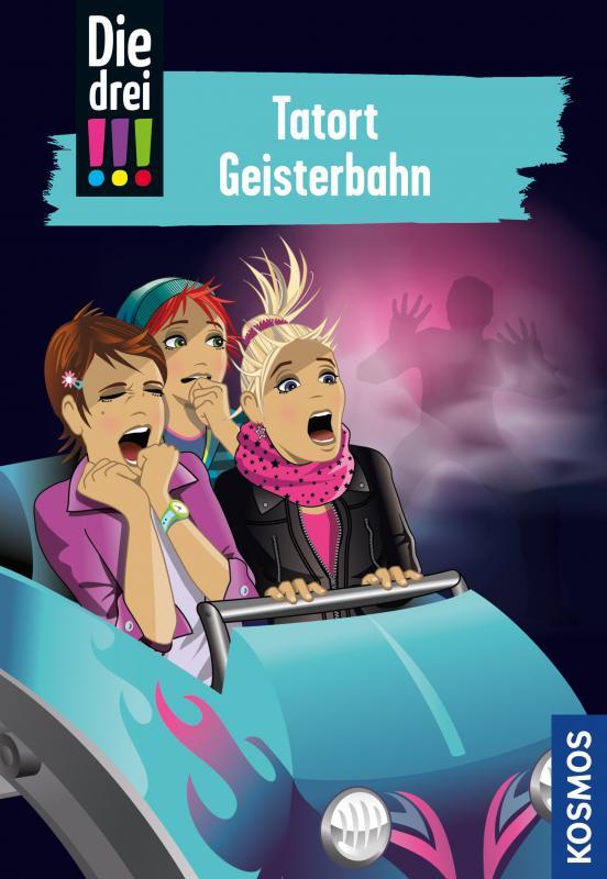 Cover-Bild Die drei !!!, 67, Tatort Geisterbahn (drei Ausrufezeichen)