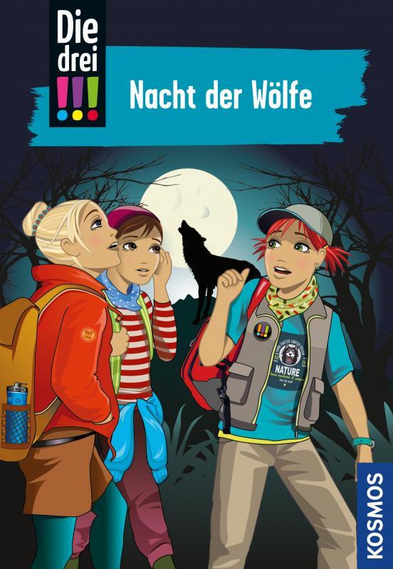 Cover-Bild Die drei !!!, 69, Nacht der Wölfe (drei Ausrufezeichen)
