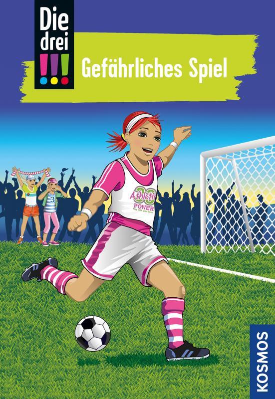Cover-Bild Die drei !!!, 70, Gefährliches Spiel