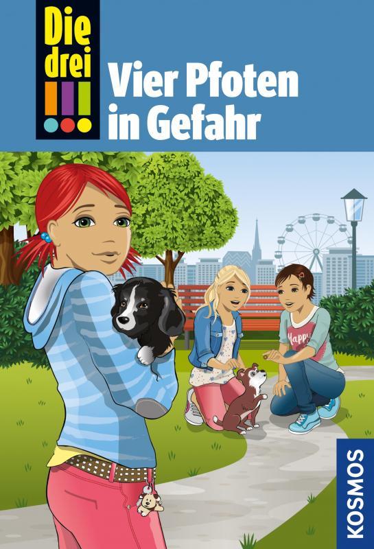 Cover-Bild Die drei !!!, 79, Vier Pfoten in Gefahr (drei Ausrufezeichen)