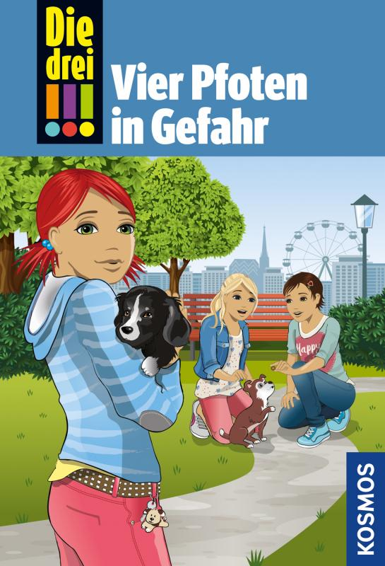 Cover-Bild Die drei !!!, 79, Vier Pfoten in Gefahr