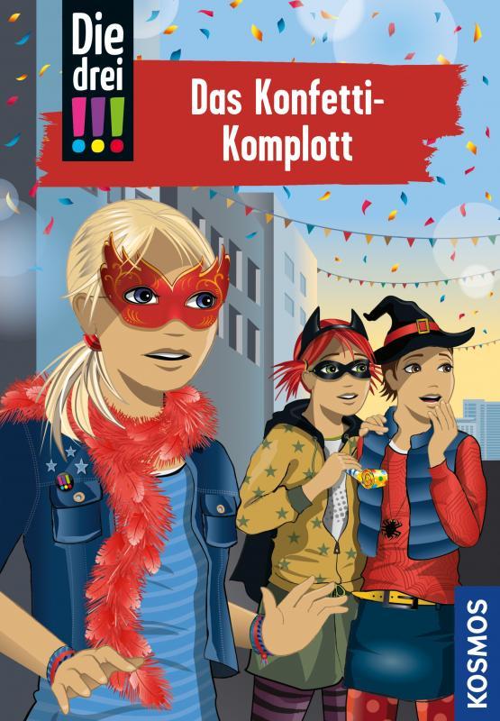Cover-Bild Die drei !!!, 82, Das Konfetti-Komplott (drei Ausrufezeichen)