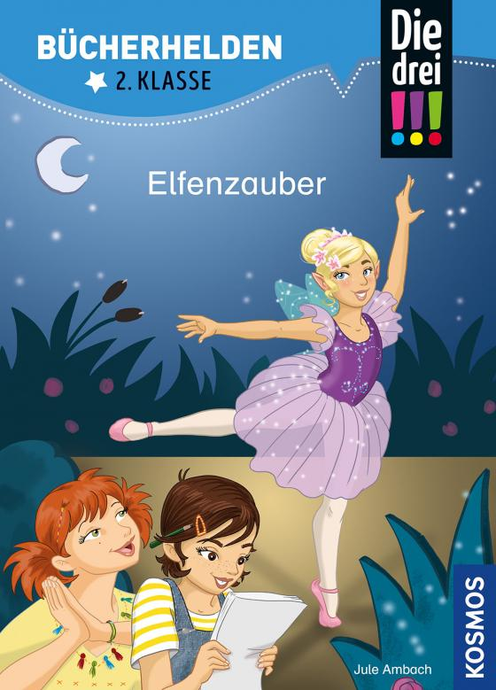 Cover-Bild Die drei !!!, Bücherhelden 2. Klasse, Elfenzauber