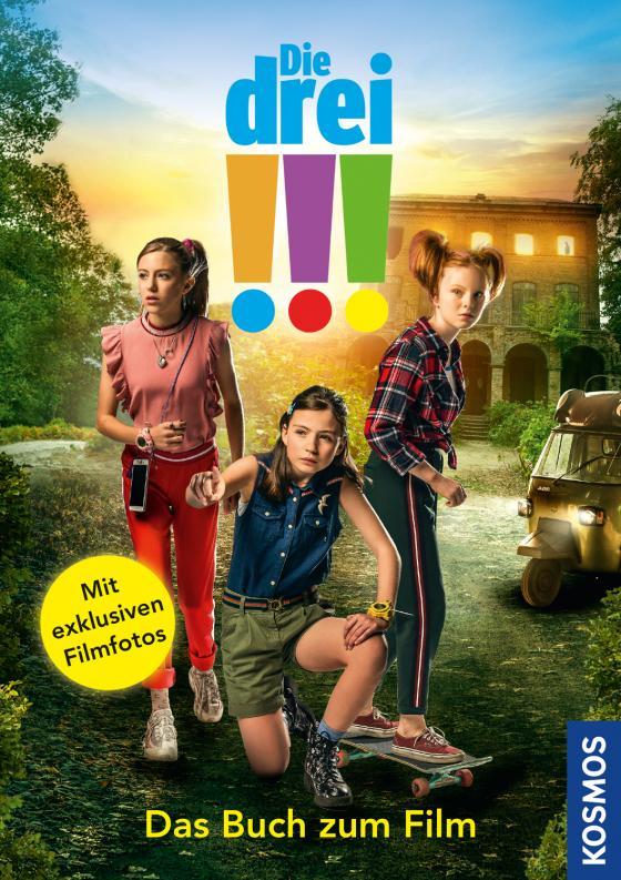 Cover-Bild Die drei !!! - Das Buch zum Film