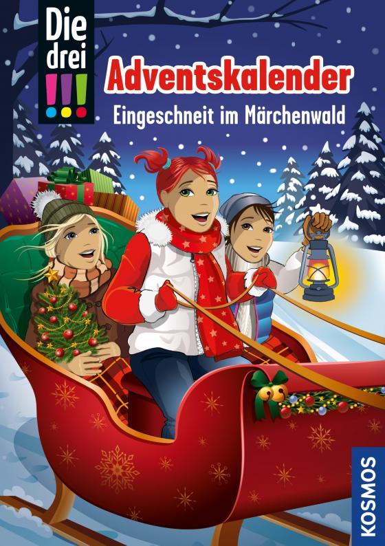 Cover-Bild Die drei !!!, Eingeschneit im Märchenwald (drei Ausrufezeichen)