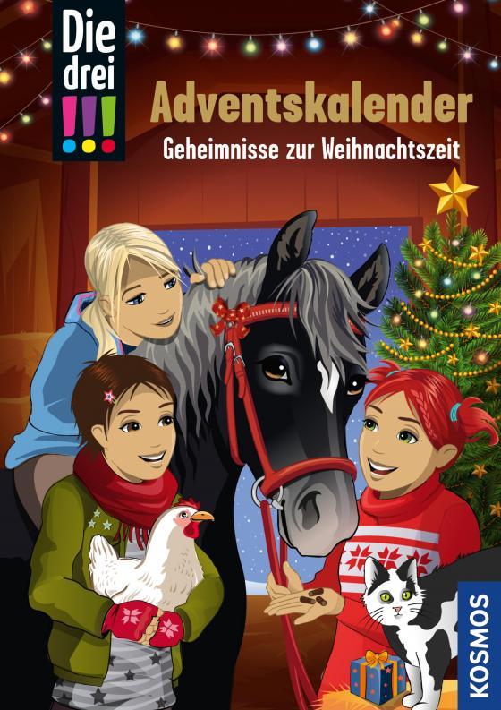 Cover-Bild Die drei !!!, Geheimnisse zur Weihnachtszeit (drei Ausrufezeichen)