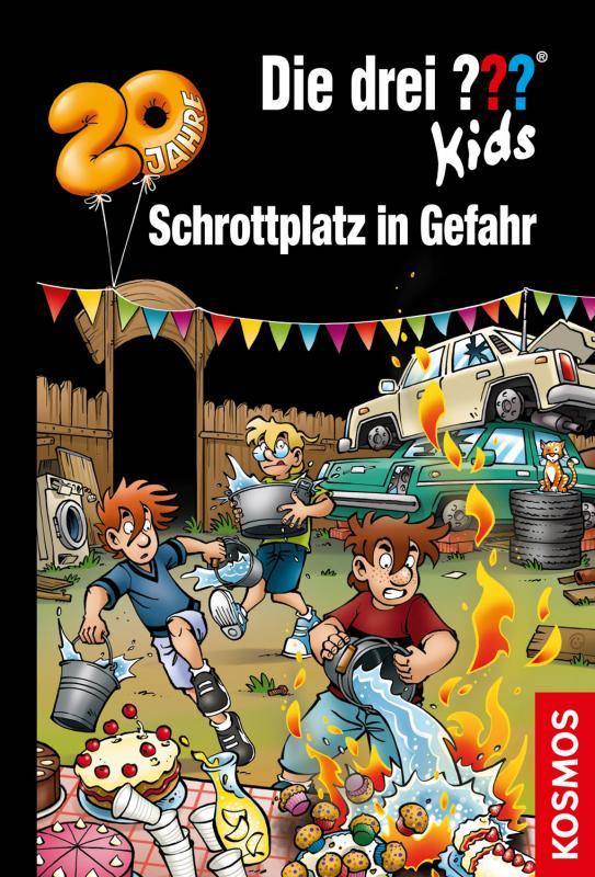 Cover-Bild Die drei ??? Kids, 78, Schrottplatz in Gefahr