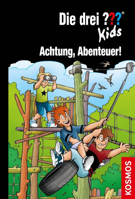 Cover-Bild Die drei ??? Kids, 79, Achtung, Abenteuer!