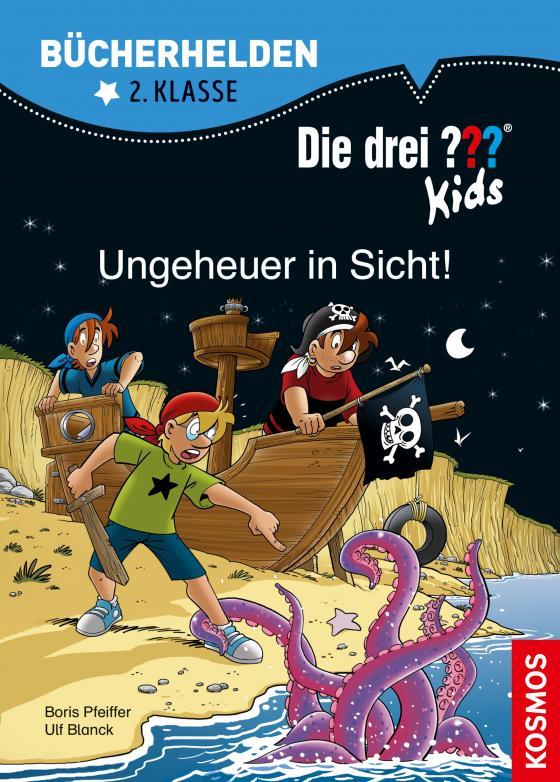 Cover-Bild Die drei ??? Kids, Bücherhelden 2. Klasse, Ungeheuer in Sicht! (drei Fragezeichen Kids)