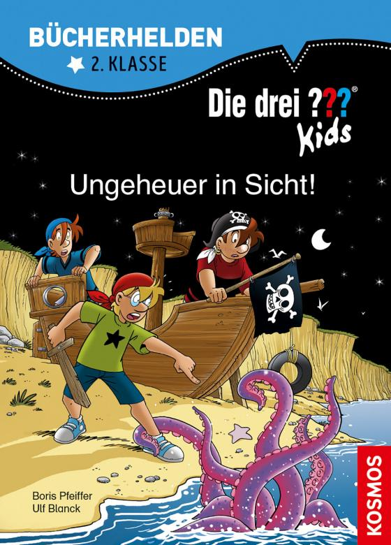 Cover-Bild Die drei ??? Kids, Bücherhelden 2. Klasse, Ungeheuer in Sicht!