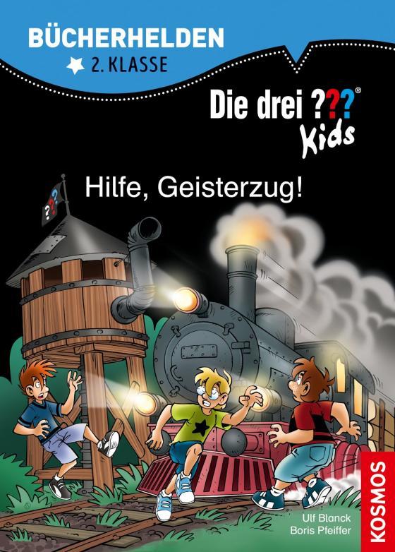 Cover-Bild Die drei ??? Kids, Bücherhelden, Hilfe, Geisterzug!