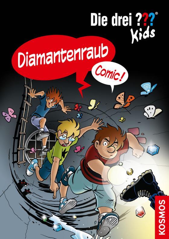Cover-Bild Die drei ??? Kids, Diamantenraub