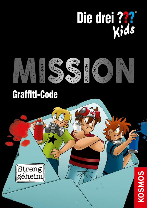 Cover-Bild Die drei ??? Kids, Mission Graffiti-Code