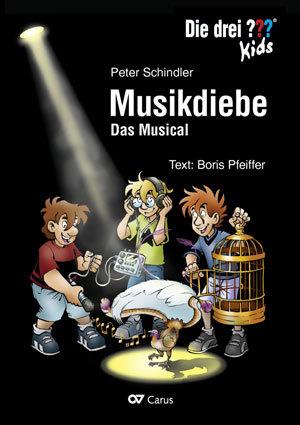 Cover-Bild Die drei ??? Kids: Musikdiebe