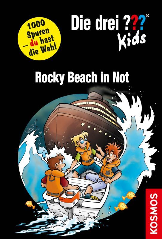 Cover-Bild Die drei ??? Kids und du, Rocky Beach in Not