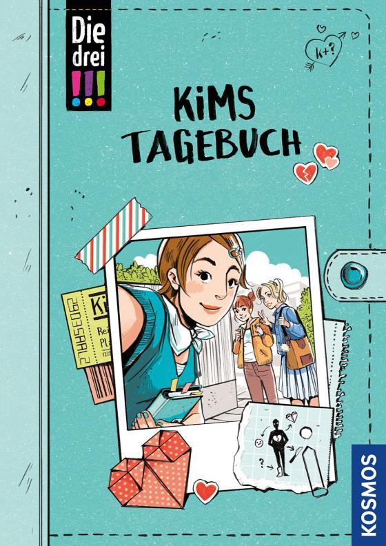 Cover-Bild Die drei !!!, Kims Tagebuch