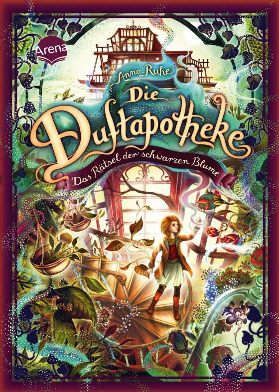 Cover-Bild Die Duftapotheke (2). Das Rätsel der schwarzen Blume