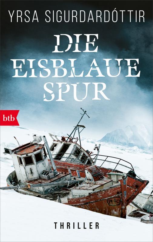 Cover-Bild Die eisblaue Spur