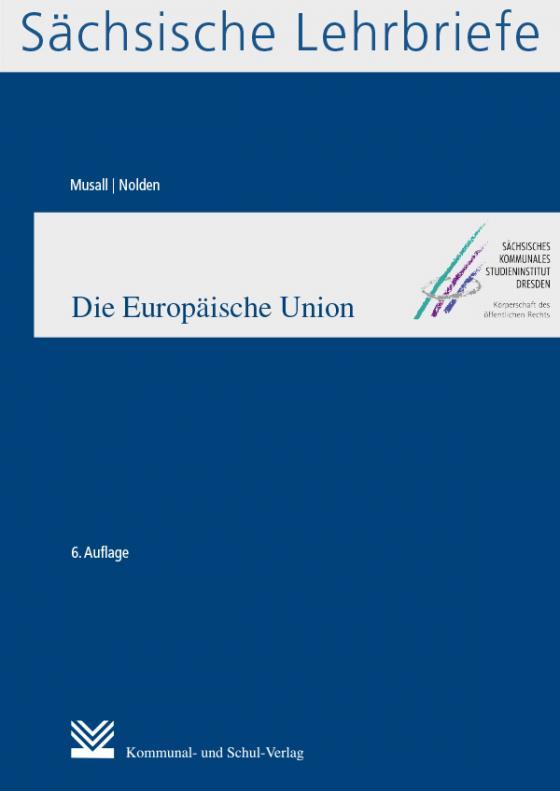 Cover-Bild Die Europäische Union (SL 4)