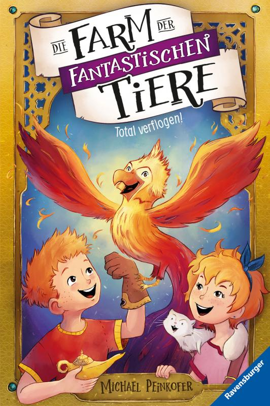 Cover-Bild Die Farm der fantastischen Tiere, Band 3: Total verflogen!