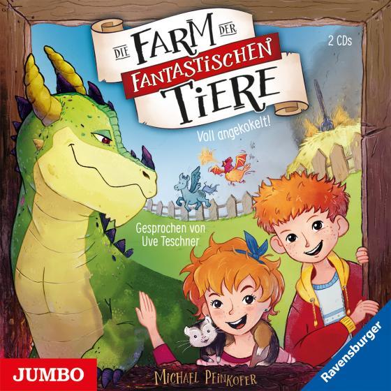 Cover-Bild Die Farm der fantastischen Tiere. Voll angekokelt!