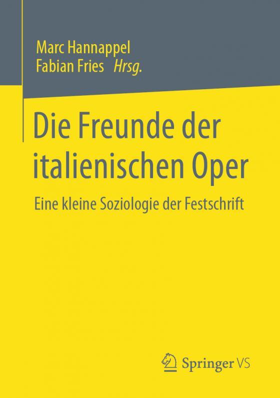 Cover-Bild Die Freunde der italienischen Oper