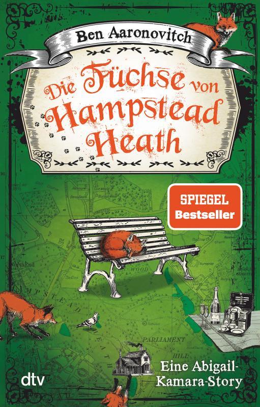 Cover-Bild Die Füchse von Hampstead Heath