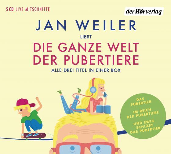 Cover-Bild Die ganze Welt der Pubertiere. Drei Titel in einer Box