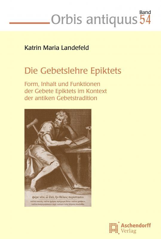 Cover-Bild Die Gebetslehre Epiktets