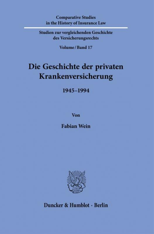 Cover-Bild Die Geschichte der privaten Krankenversicherung.