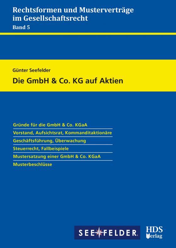 Cover-Bild Die GmbH & Co. KG auf Aktien