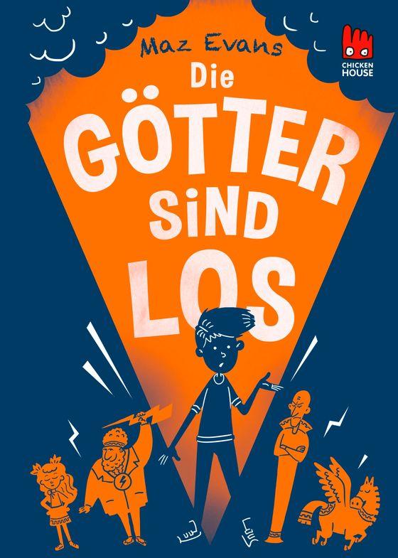 Cover-Bild Die Götter sind los (Die Chaos-Götter 1)