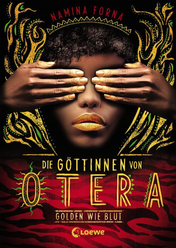 Cover-Bild Die Göttinnen von Otera (Band 1) - Golden wie Blut