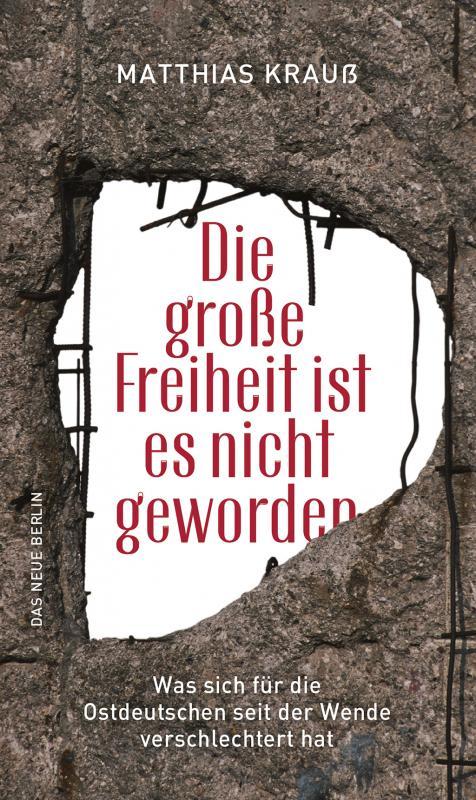 Cover-Bild Die große Freiheit ist es nicht geworden