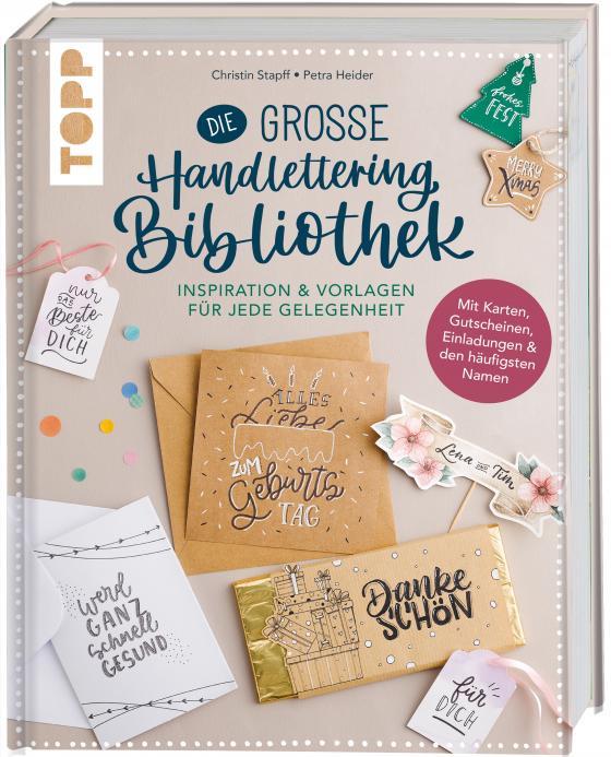 Cover-Bild Die große Handlettering-Bibliothek - Inspiration & Vorlagen für jede Gelegenheit