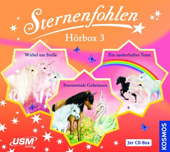 Cover-Bild Die große Sternenfohlen Hörbox Folgen 7-9 (3 Audio CDs)