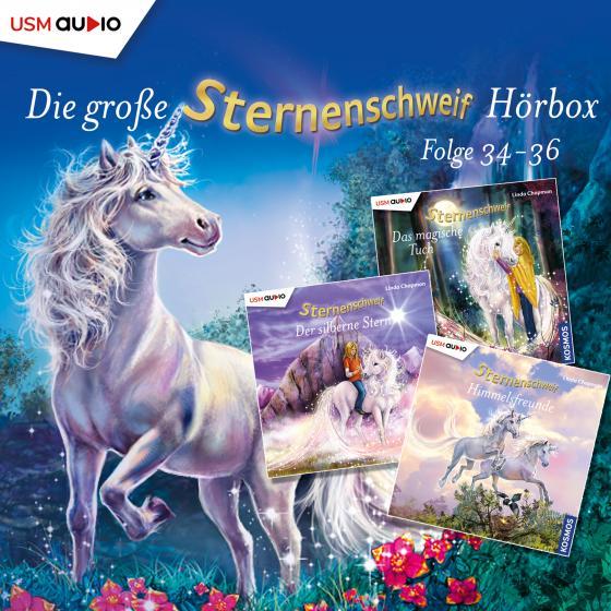Cover-Bild Die große Sternenschweif Hörbox Folgen 34-36 (3 Audio CDs)