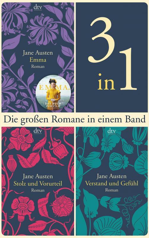 Cover-Bild Die großen Romane, Emma - Stolz und Vorurteil - Verstand und Gefühl