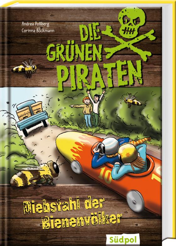 Cover-Bild Die Grünen Piraten - Diebstahl der Bienenvölker