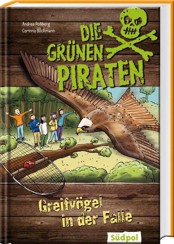 Cover-Bild Die Grünen Piraten - Greifvögel in der Falle